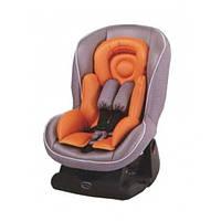 Автокресло Geoby CS800E-W4UG (0-18 кг) серый с оранжевым
