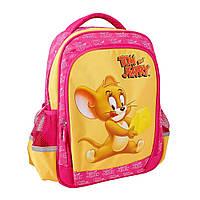 Рюкзак для девочки ортопедический школьный Tom and Jerry, фото 1