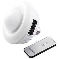 Фонарь лампа светодиодная 9816, 20+24SMD, пульт Д/У