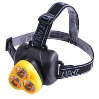 Фонарь налобный Police 913-3 Lumen фонарь на голову, фото 1