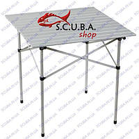 Стол раскладной PICNIC алюминиевый для пикника 70*70*70 см