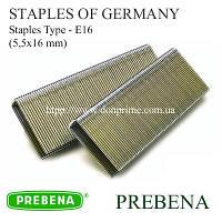 Скобы PREBENA | скоба для пневмопистолета Тип-Е (5,5х16 мм)
