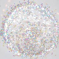 Белый глиттер-5 грамм-0,2 мм