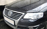 Хром накладки на решетку радиатора Volkswagen passat b6 (фольксваген пассат б6) 2005-2011