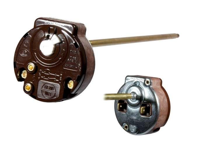 Термостат 20A, 250V однополярный, длинна 270 мм (Турция)