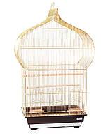 Клетка для птиц Fox Jasmine, золотая, Харьков, Киев, Херсон, Николаев.