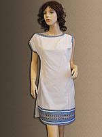 Жіноче плаття-туніка в українському стилі