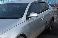 Дефлекторы окон (ветровики) Volkswagen passat b6 (фольксваген пассат б6) 2005-2011