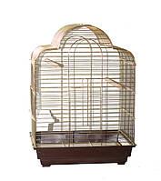 Клетка для птиц Fox Calla, золотая