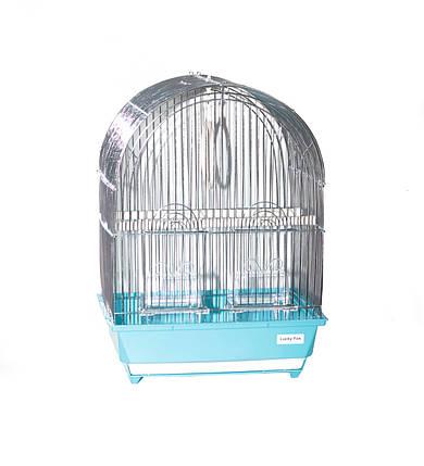Клетка для птиц Fox Iris цинк, 32х26х44,5 см, фото 2