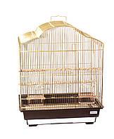Клетка для птиц Fox Violet, золотая, Харьков, Киев, Херсон, Николаев.