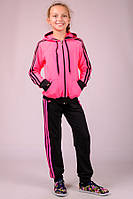 Детский спортивный костюм (розовый), фото 1