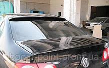Lip spoiler (лип спойлер-сабля) Volkswagen passat b6 sedan (фольксваген пассат б6) 2005-2011 седан