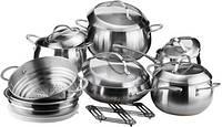 Набор посуды Vinzer 89035 Fine Magestic 14 предметов