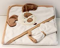 Полотенце детское с капюшоном Ушки