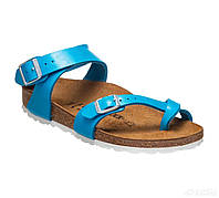 Сандалии ортопедические женские (голубой) Yara, Birkenstock, 1008850N/1008851S, фото 1