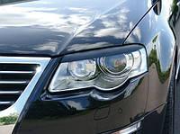 Реснички передних фар Volkswagen passat b6 (фольксваген пассат б6) 2005-2011