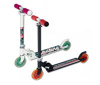 Самокат детский со светодиодными колесами двухколёсный, фото 1
