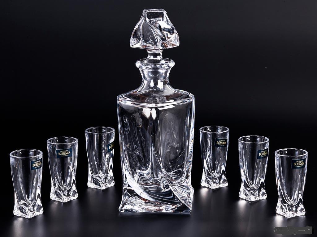 Набор для напитков Bohemia Quadro 99999/99A44/457