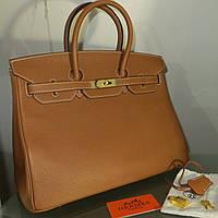 РУЧНАЯ РАБОТА. КОЖА ТОГО. Женская сумка Биркин35 см БРЕНД
