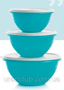 Чаши Брауни 3 шт Tupperware