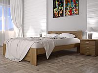 Кровать двуспальная ТИС Изабелла 3 сосна лак