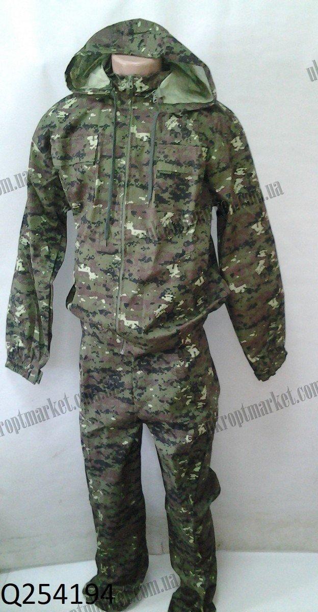 """Костюм военный со съемным капюшоном (46-60) """"Voin"""" LM-847"""