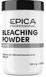 Белая пудра EPICA BLEACHING POWDER WHITE WITH MINT FRAGRANCE 500GR