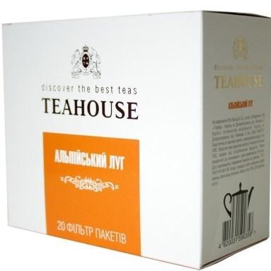 Чай пакетований Teahouse для заварников гранпак Альпійський луг 20 шт.