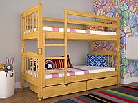 Кровать двуспальная ТИС Трансформер 3 бук ольха