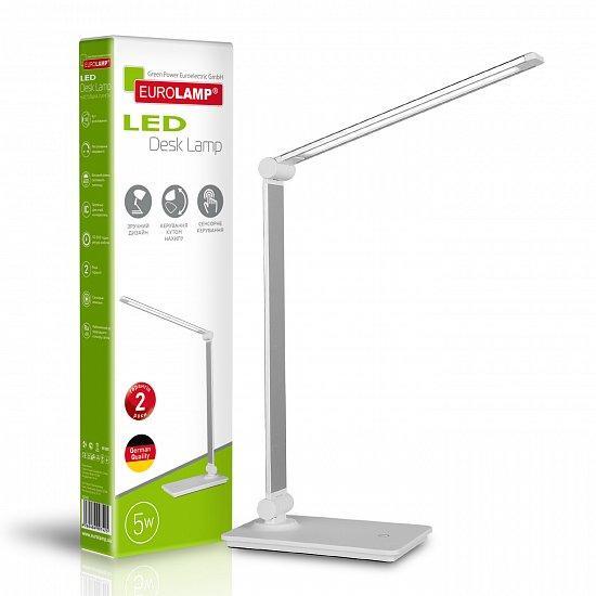 Светильник настольный Eurolamp в стиле хайтек 5W 5500K LED-TLG-3(white)