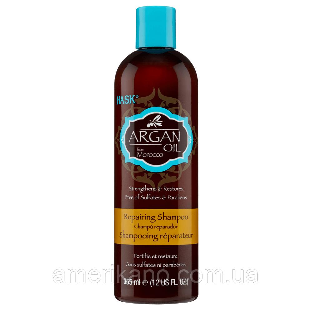 Шампунь с аргановым маслом восстанавливающий HASK Argan Oil Repairing Shampoo, 355 мл