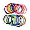 Пластик 14 цветов 200 метров, 20 мотков по 10 м для 3D ручки, ПЛА / PLA нить, стержни, фото 2