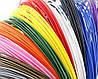 Пластик 14 цветов 200 метров, 20 мотков по 10 м для 3D ручки, ПЛА / PLA нить, стержни, фото 9