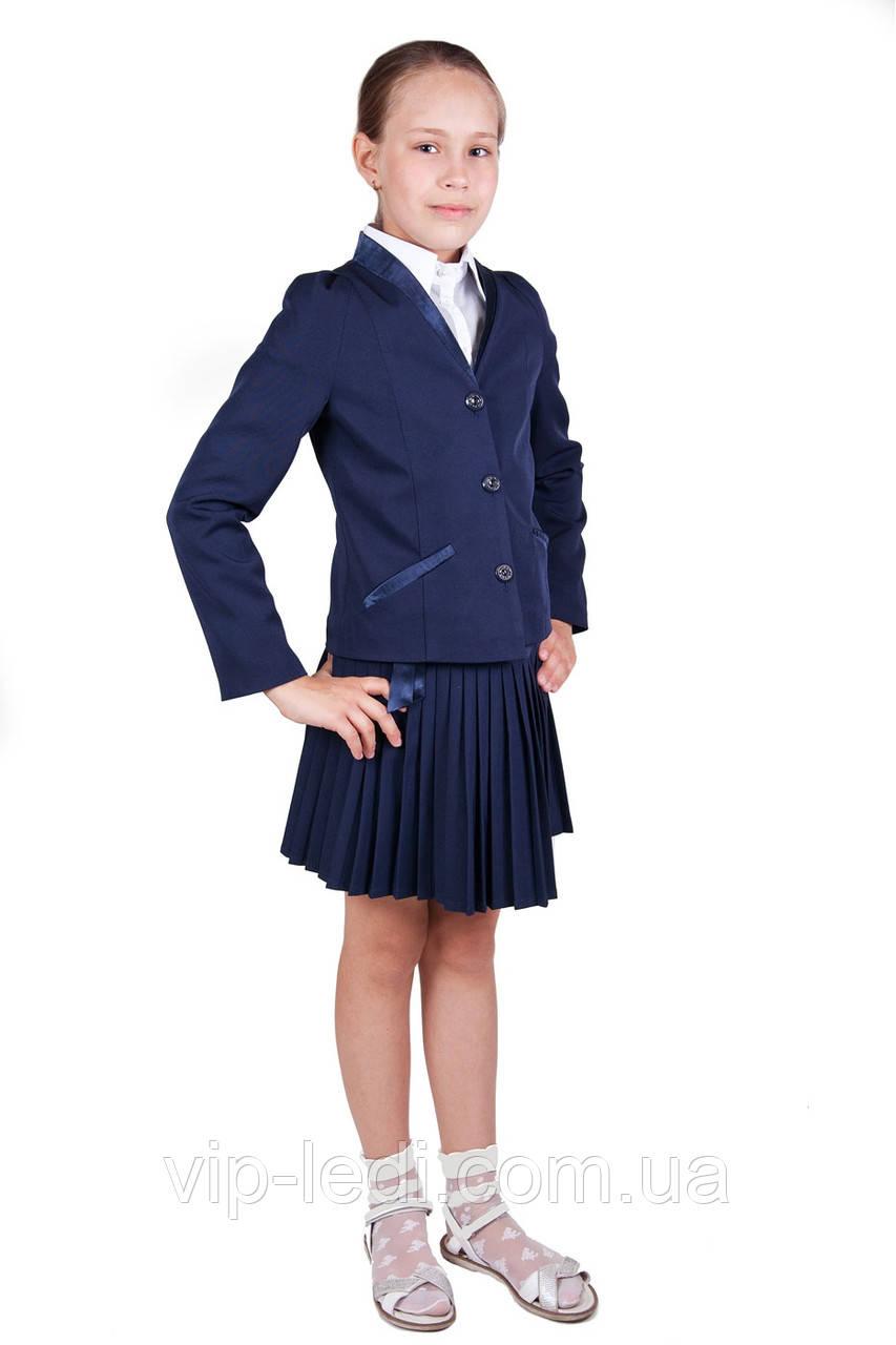Школьный комплект для девочки  пиджак с юбкой Жардин, фото 1