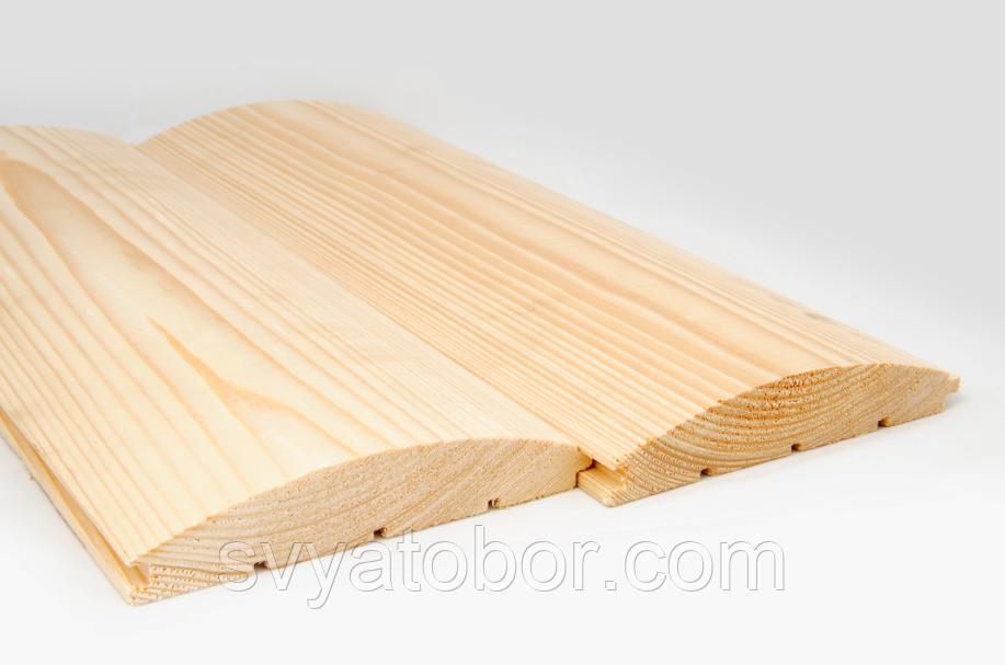 Блок-хаус Сосна 4000х125х35 (І-й сорт)