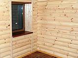 Блок-хаус Сосна 4500х125х25 (І-й сорт), фото 3