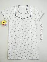 Ночная рубашка женская в бантик