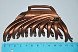Великі матові Краби для волосся з емблемою (6 шт), фото 4