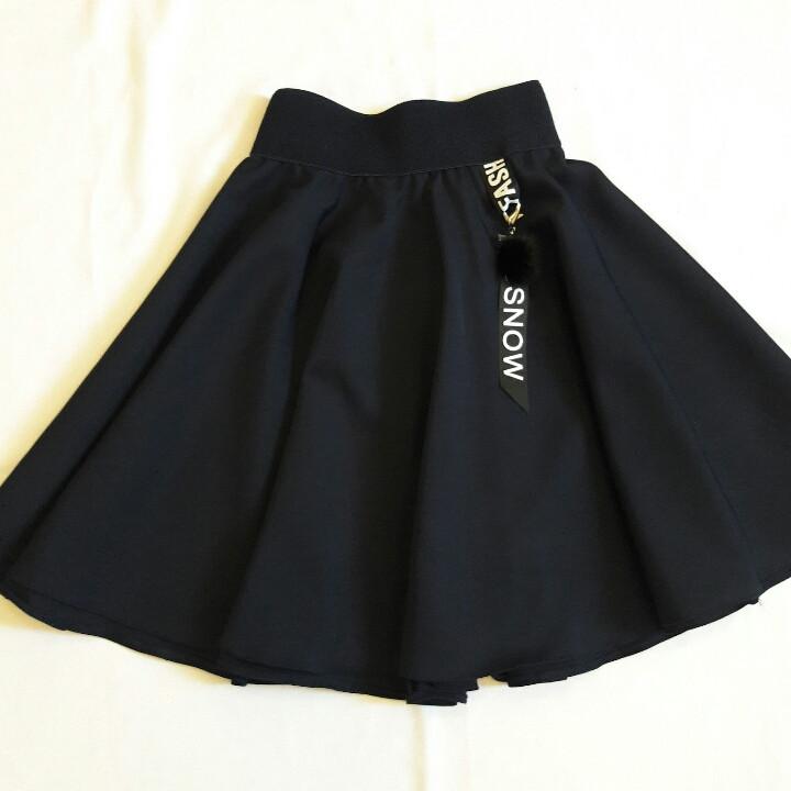 Стильная школьная юбка для девочки