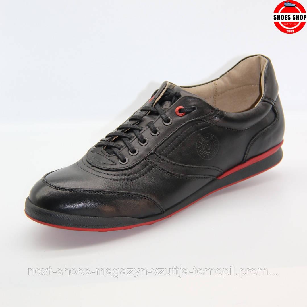 Чоловічі кросівки Lesta (Польща) чорного кольору. Дуже зручні та красиві. Стиль - Джуд Лоу