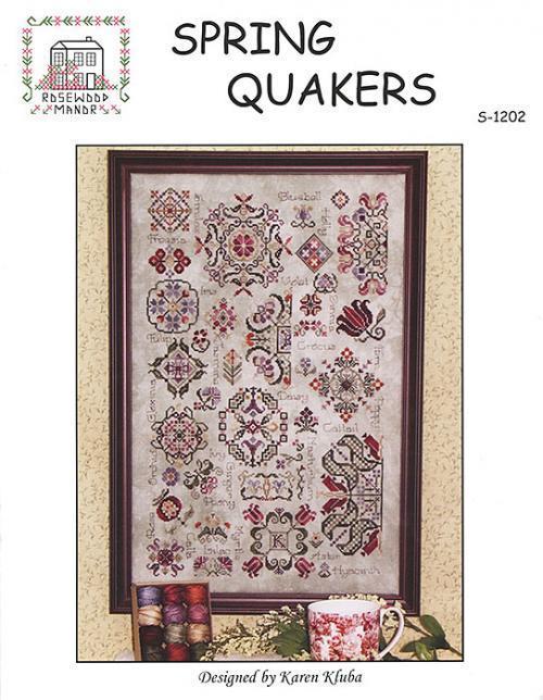 Схема для вышивки Rosewood Manor Spring Quakers