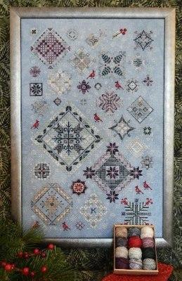 Схема для вышивки Winter Quakers