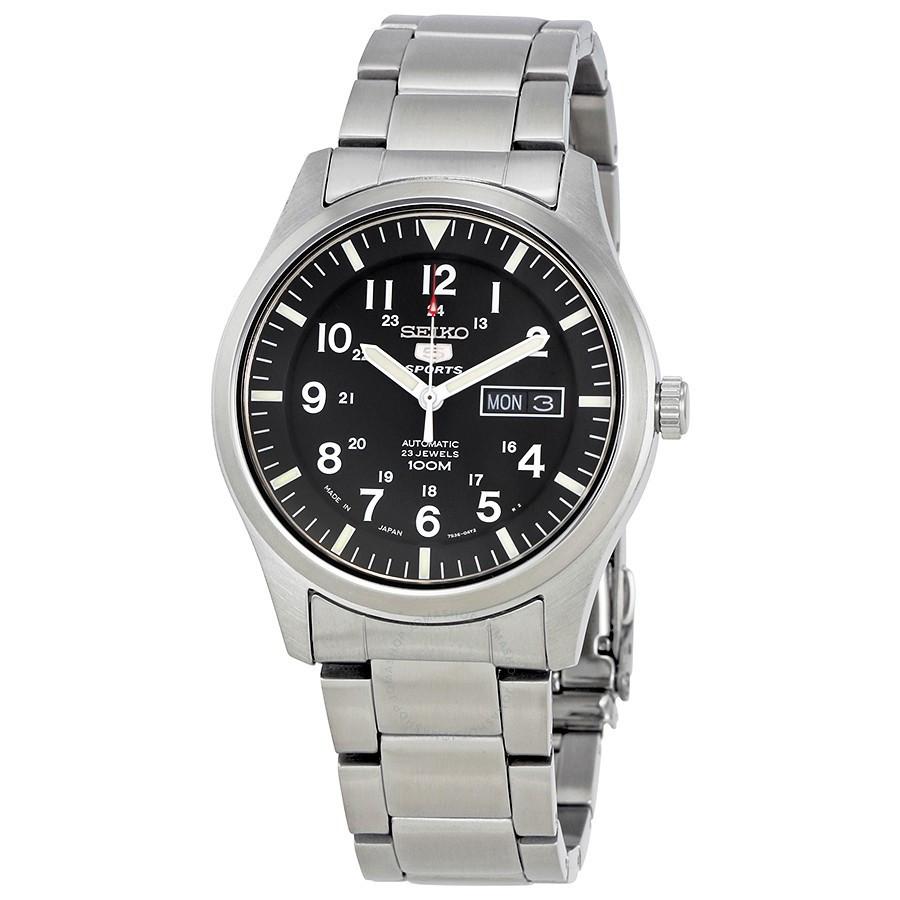 Мужские часы Seiko SNZG13К1 5 Automatic Military