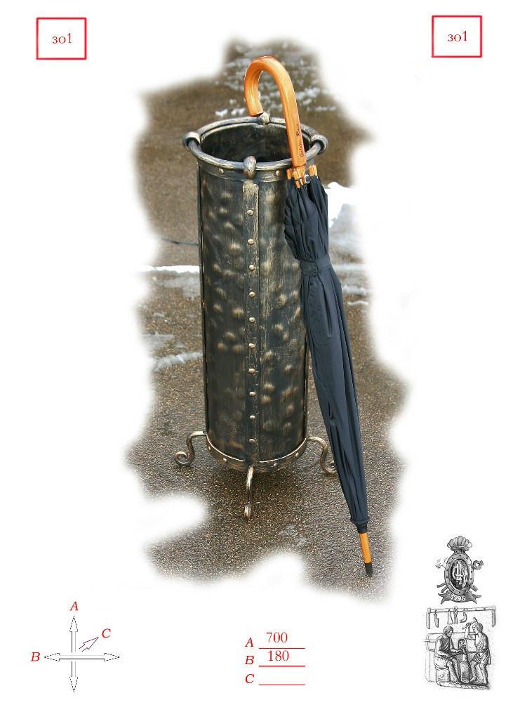 Кованая зонтовница