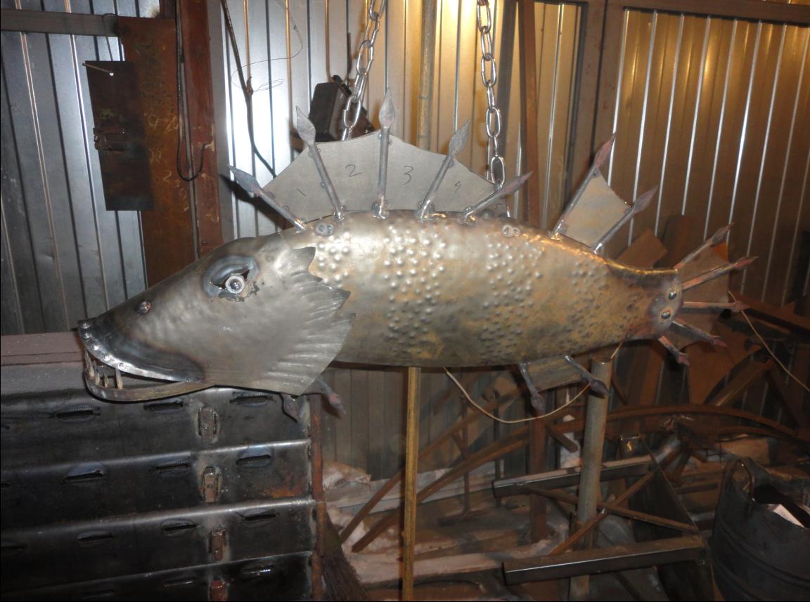 Декоративный элемент - рыба