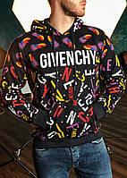 Худи в стиле Givenchy черная