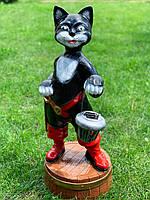 """Садовая фигура """"Кошка в сапогах"""" Н-75см, фото 1"""