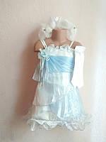 Карнавальное платье Снежинка,Зима,Снежная королева,принцесса 3 в 1, фото 1