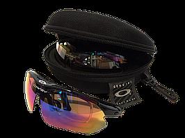 Очки тактические Oakley (Окли) с поляризацией 5 стекол